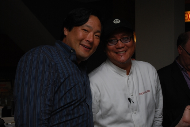 Dinner with an Iron Chef: Masaharu Morimoto in Chicago