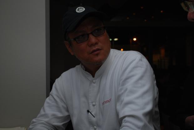 Q & A with Masaharu Morimoto and TakashiYagihashi