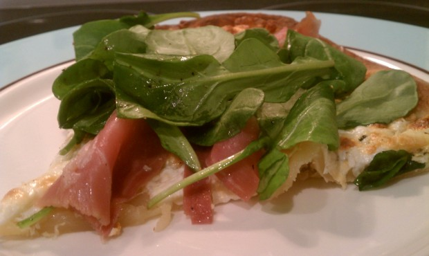 Prosciutto and Arugula Pizza: Fresh and Easy