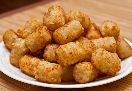 Tater Tot Casserole Recipe. It's winter; a food coma is more than welcome. My belly craves gooey comfort food and hot apple cider. Enter tater tot casserole: a creamy, crispy, cheesy delight.