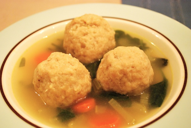 Chicken Matzoh Meatball Soup