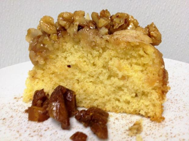 Orange Almond Olive Oil Cake