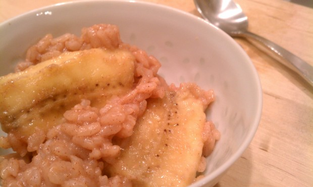 Bedtime Banana and Coconut Rice Pudding