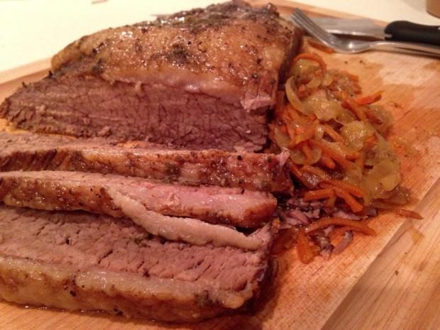 Slow Cooker Beef Brisket: Simple andStraightforward