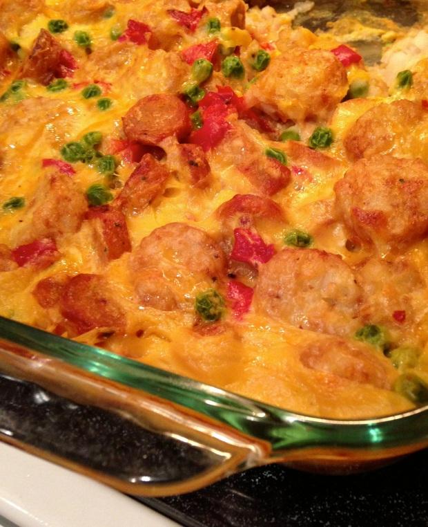 Winter Comfort Foods: Cheesy Tater TotCasserole