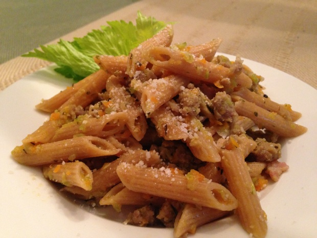 Spring Training Whole Grain Pasta