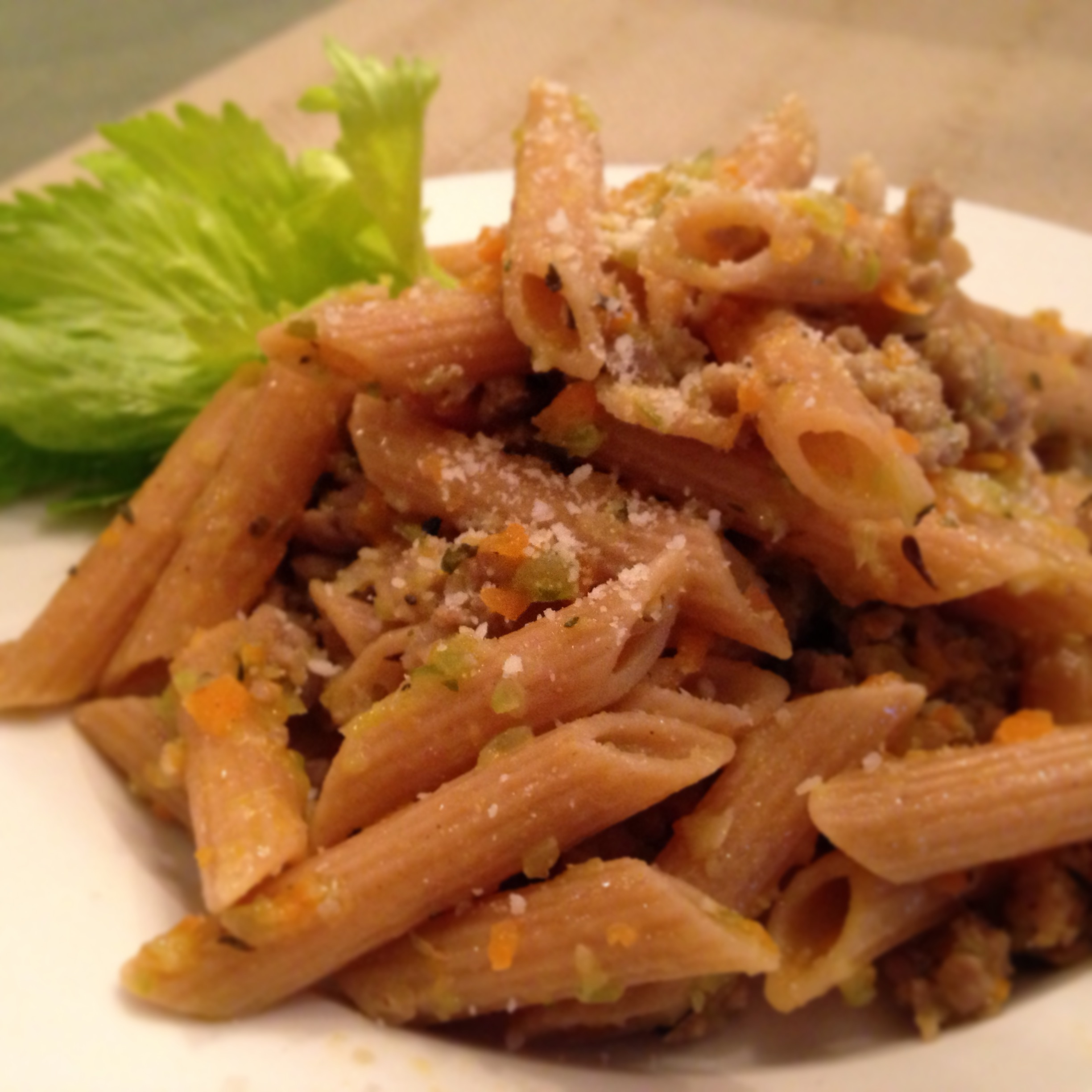 Food with my friends i use whole grain penne rigate pasta forumfinder Images